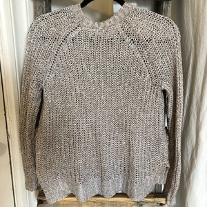 AERIE Silver Knit Pullover
